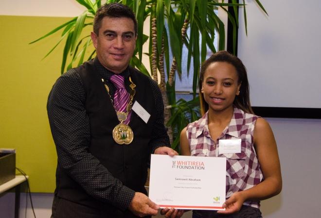 Thanks to longtime Whitireia Foundation sponsor Porirua City Council