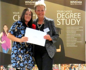 Emma Millanta and Lana Sheppard Whitireia Foundation Scholarship ceremony 2014