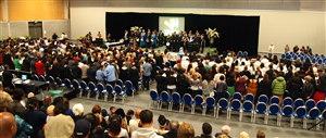 Whitireia graduation ceremony 18 December 2012