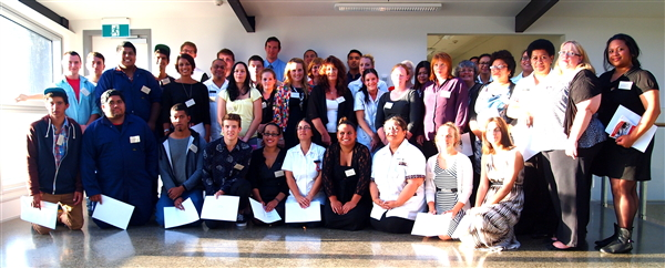 Whitireia Foundation Scholarship Recipients 2013 Porirua NZ