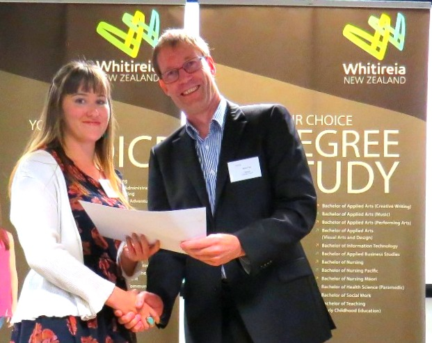 Whitireia scholarships 2014 Journalism scholarship recipient Anneka paul