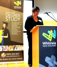 Guest speaker, Maria Uluilelata - Career consultant, Whitireia NZ