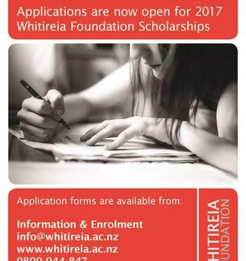 Scholarships 2017 – Apply now!
