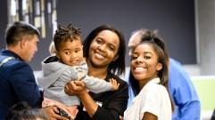 Chika bermudez and whanau WF Awards 2018 Gee Hickton scholarship crop