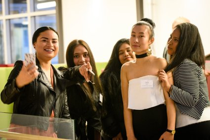 WF students group Awards Night 2018