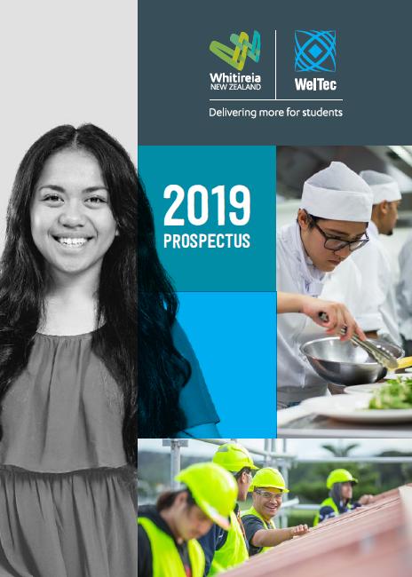 Whitireia Weltec Prospectus 2019